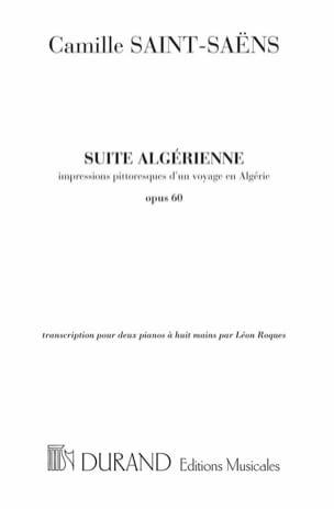Suite Algérienne Opus 60. 2 Pianos 8 Mains SAINT-SAËNS laflutedepan