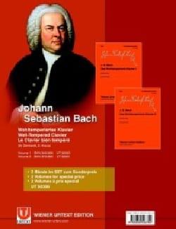 Das Wohltemperierte Klavier. Volumes 1 et 2 BACH laflutedepan