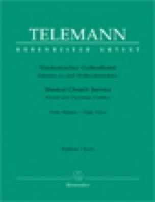 Harmonischer Gottesdienst. Voix Haute - TELEMANN - laflutedepan.com