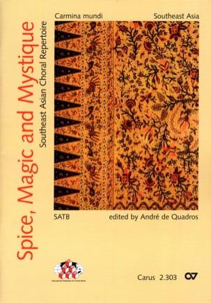 Spice, Magic And Mystique Partition Chœur - laflutedepan