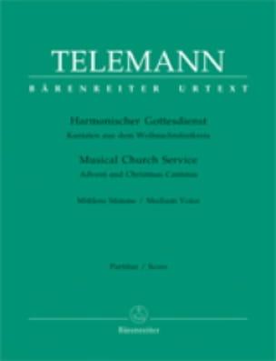 Harmonischer Gottesdienst Volume 1 Voix Moyenne - laflutedepan.com