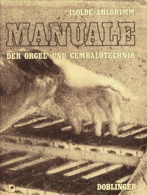 Manuale der Orgel- und Cembalotechnik Isolde Ahlgrimm laflutedepan