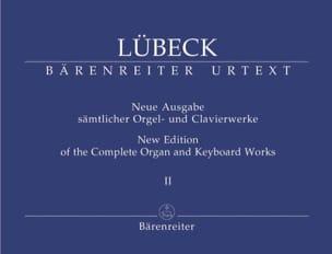 Oeuvre d'Orgue Volume 2 (Senior) Vincent Lübeck Partition laflutedepan