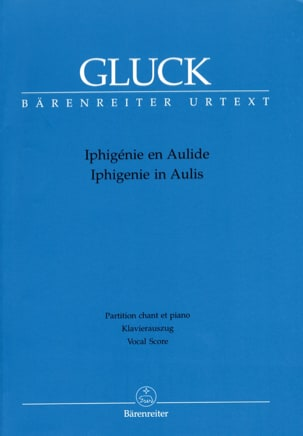 Iphigénie En Aulide. Urtext Der Gluck-Gesamtausgabe GLUCK laflutedepan