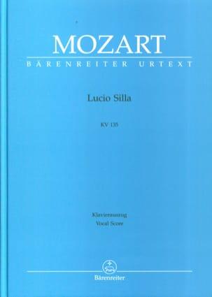 Lucio Silla K 135 MOZART Partition Opéras - laflutedepan