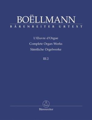 Oeuvre d'Orgue Volume 3-2. - Léon Boëllmann - laflutedepan.com