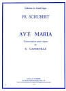 Ave Maria. Orgue SCHUBERT Partition Orgue - laflutedepan