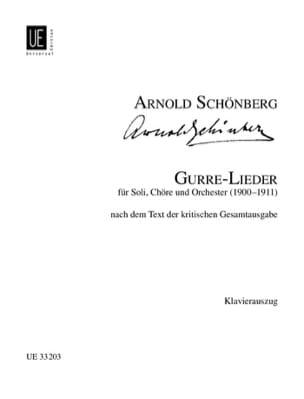 Gurre-Lieder SCHOENBERG Partition Chœur - laflutedepan