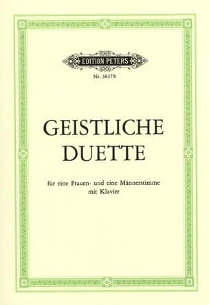 - Geistliche Duette - Partition - di-arezzo.fr