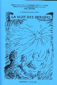 La Nuit des Bergers. Conducteur Eric Noyer Partition laflutedepan