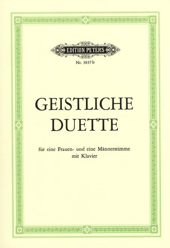 Geistliche Duette - Partition - Duos - laflutedepan.com