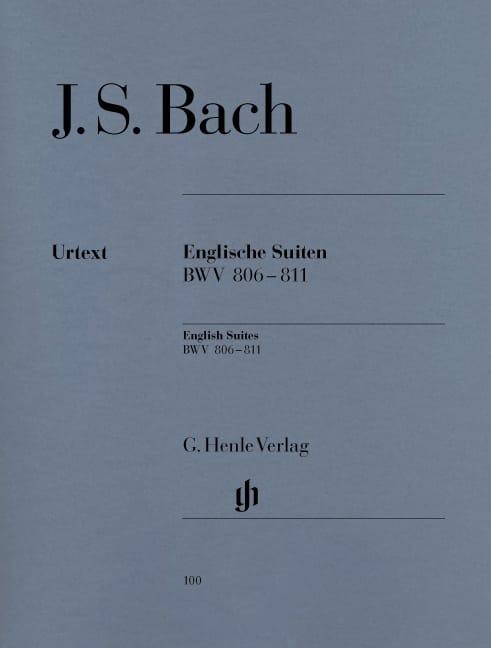 Suites Anglaises BWV 806-811 - BACH - Partition - laflutedepan.com