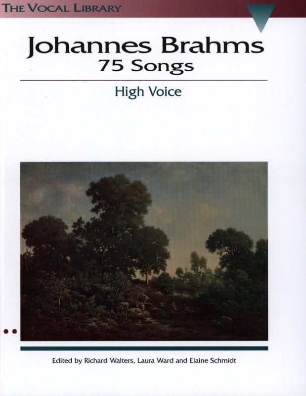 75 Songs. Voix Haute - BRAHMS - Partition - laflutedepan.com