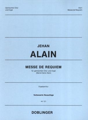Messe de Requiem Jehan Alain Partition Chœur - laflutedepan