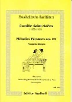 Mélodies Persanes Op. 26. SAINT-SAËNS Partition laflutedepan