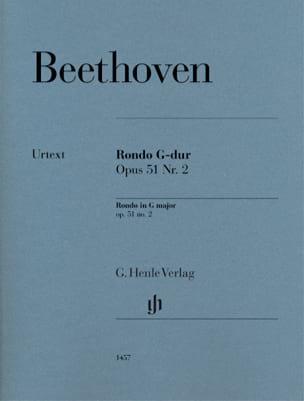 Ludwig van Beethoven - Rondo Sol Major Opus 51-2 - Partition - di-arezzo.es