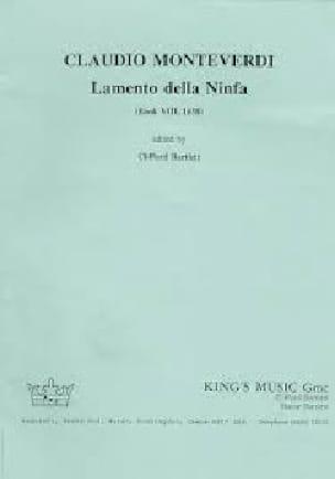 Lamento Della Ninfa. Set complet - MONTEVERDI - laflutedepan.com