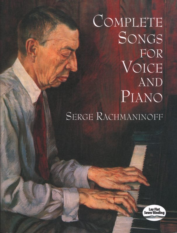 Complete Songs For Voice And Piano - RACHMANINOV - laflutedepan.com