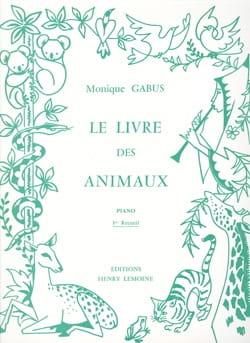Livre des Animaux Volume 1 Monique Gabus Partition laflutedepan