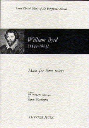 Messe pour 3 Voix Willam Byrd Partition Chœur - laflutedepan