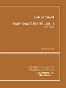 Early Piano Pieces Vol 1 Chavez Partition Piano - laflutedepan