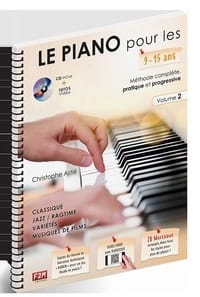 ASTIE Christophe - The Piano for 9 - 15 years old. Volume 2 - Partition - di-arezzo.co.uk