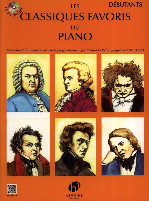 Classiques Favoris Débutants - Partition - Piano - laflutedepan.be