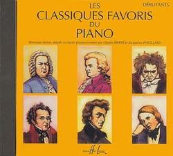 Classiques Favoris Débutant CD Partition Piano - laflutedepan