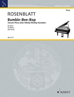 Bumble-Bee-Bop Alexander Rosenblatt Partition Piano - laflutedepan