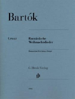 Rumänische Weihnachtslieder BARTOK Partition Piano - laflutedepan