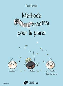 Méthode Créative pour le Piano HUVELLE-DELREE Partition laflutedepan