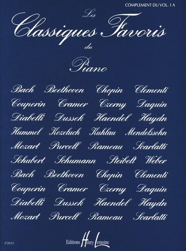 Classiques Favoris Volume 1a Complément - laflutedepan.com