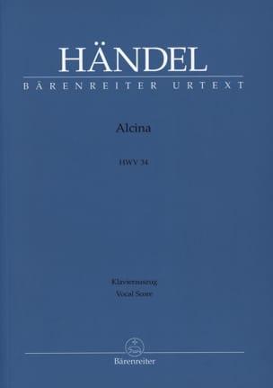 Alcina HAENDEL Partition Opéras - laflutedepan