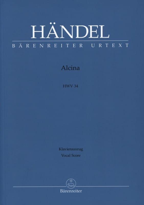 Alcina - HAENDEL - Partition - Opéras - laflutedepan.com