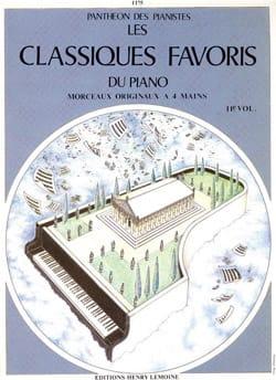 Classiques Favoris Volume 11. 4 Mains Partition Piano - laflutedepan