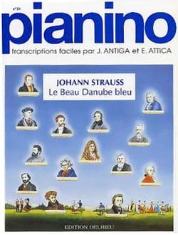 Le Beau Danube Bleu. Pianino 21 Johann fils Strauss laflutedepan