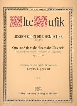 4 Suites de Pièces de Clavecin Opus 59 BOISMORTIER laflutedepan