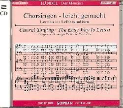 Messiah. CD Soprano CHOEUR HAENDEL Partition Chœur - laflutedepan