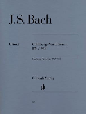 BACH - Goldberg Variations - Partition - di-arezzo.co.uk