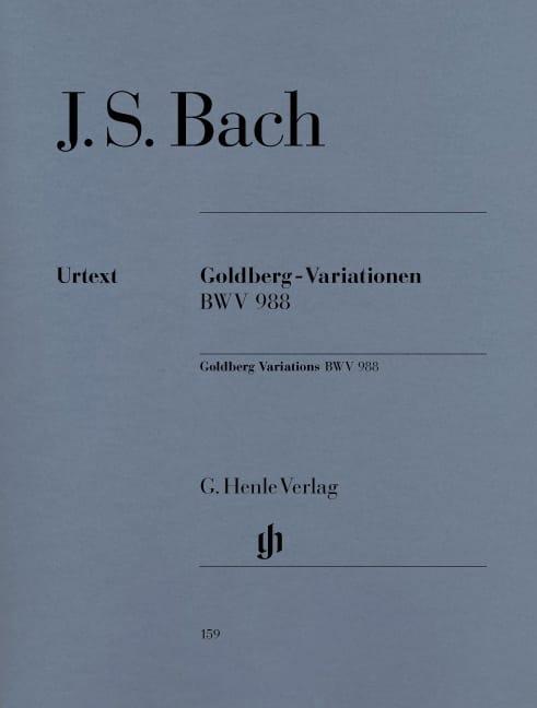 Variations Goldberg - BACH - Partition - Piano - laflutedepan.com