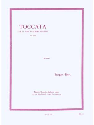 Jacques Ibert - Toccata - Partition - di-arezzo.fr