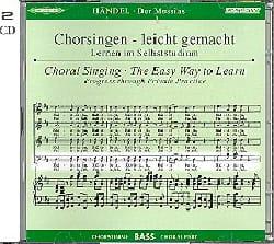 Messiah. CD Basse CHOEUR - HAENDEL - Partition - laflutedepan.com