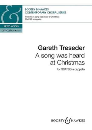 A song was heard at Christmas Gareth Treseder Partition laflutedepan