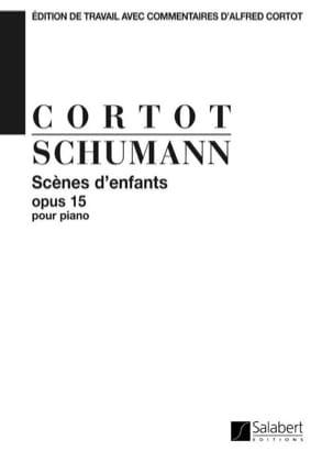 Scènes D'enfants, Opus 15. SCHUMANN Partition Piano - laflutedepan