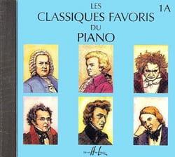 Classiques Favoris Volume 1A - CD Partition Piano - laflutedepan