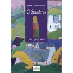 O Salutaris Op. 36 Jean Langlais Partition Duos - laflutedepan