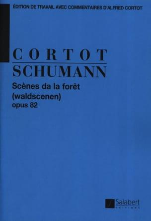 Scènes de la forêt, Opus 82 SCHUMANN Partition Piano - laflutedepan