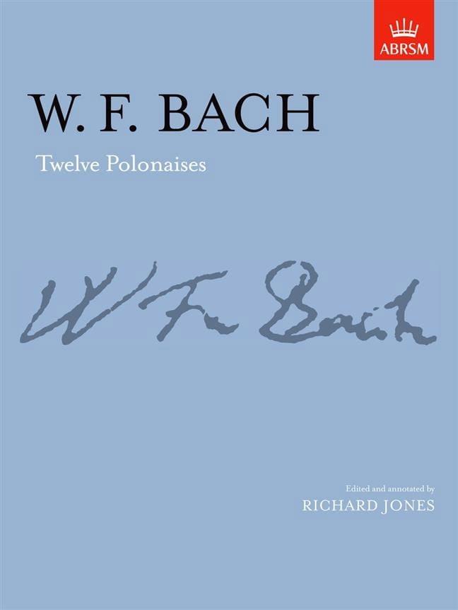 12 Polonaises - Wilhelm Friedemann Bach - Partition - laflutedepan.com