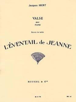 Jacques Ibert - Valse - Partition - di-arezzo.fr