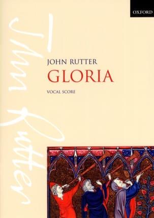 Gloria RUTTER Partition Chœur - laflutedepan